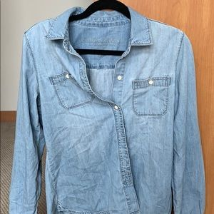 Jean Button Down Shirt